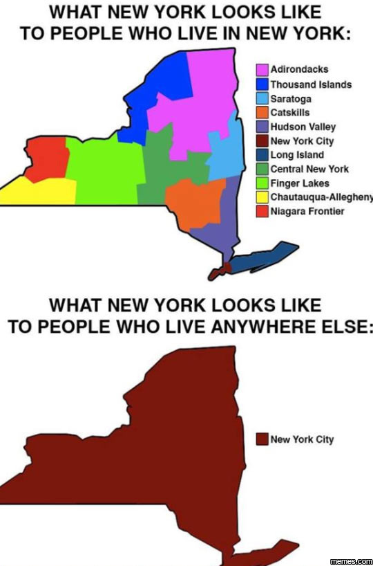 Image result for Central New York meme