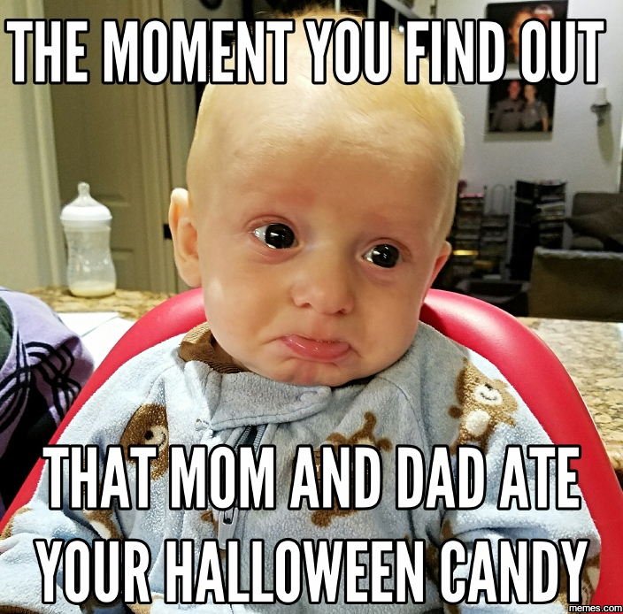 1033513 pouty faced kid halloween candy memes com,Candy Meme