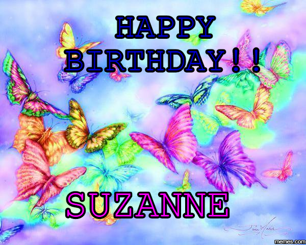 Image result for happy birthday Suzanne