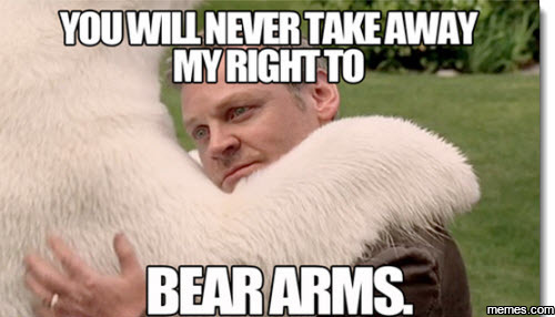 1057408 you will never take away my right to bear arms memes com,The Right To Bear Arms Meme