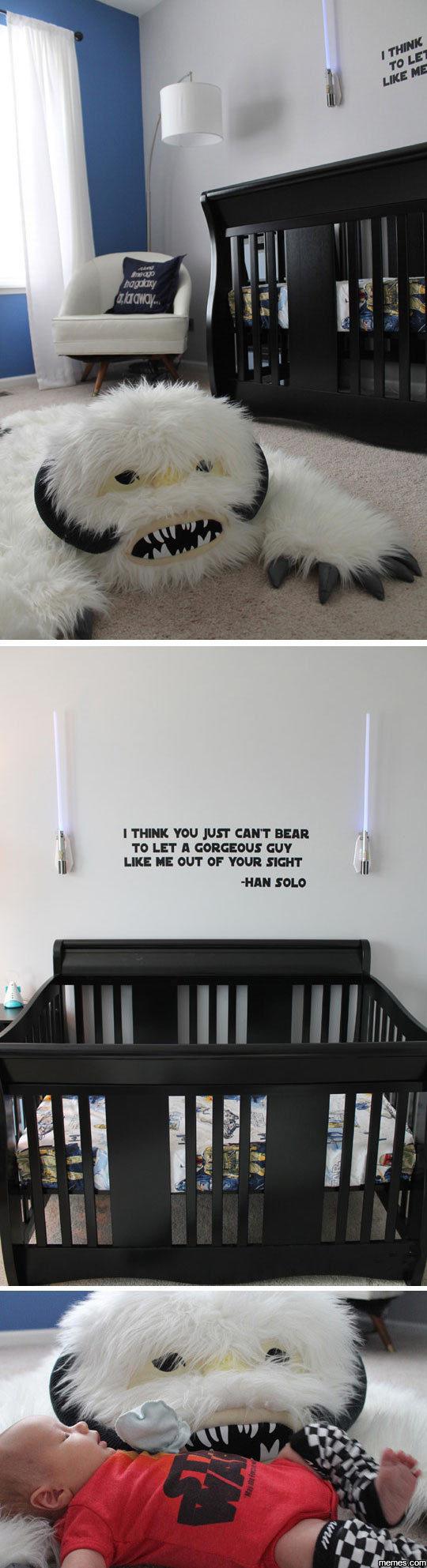 Awesome Star Wars Nursery