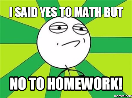 Homework yes or no