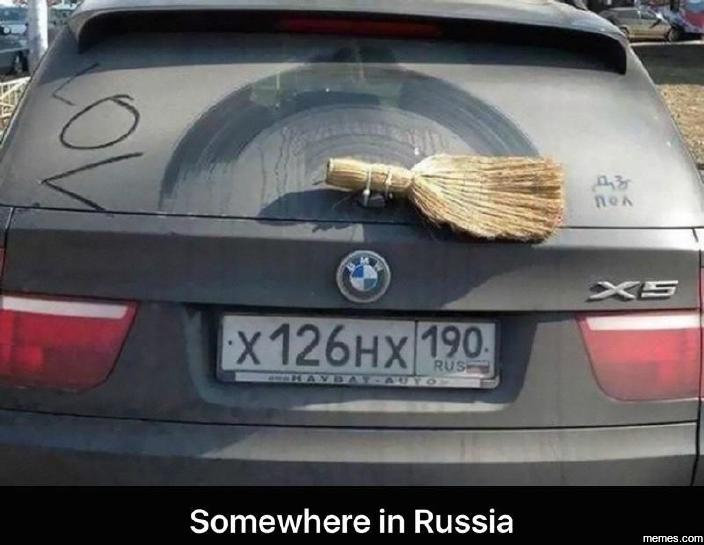 Somewhere in Russia…