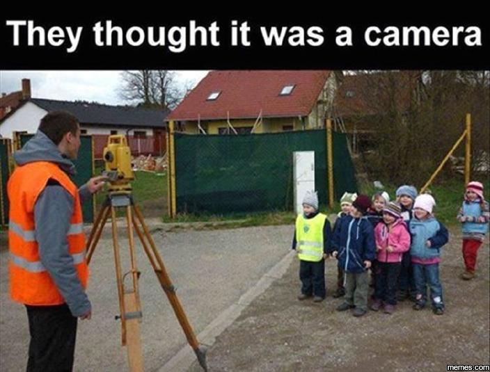 They thought it was a camera…