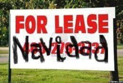 For lease navidad