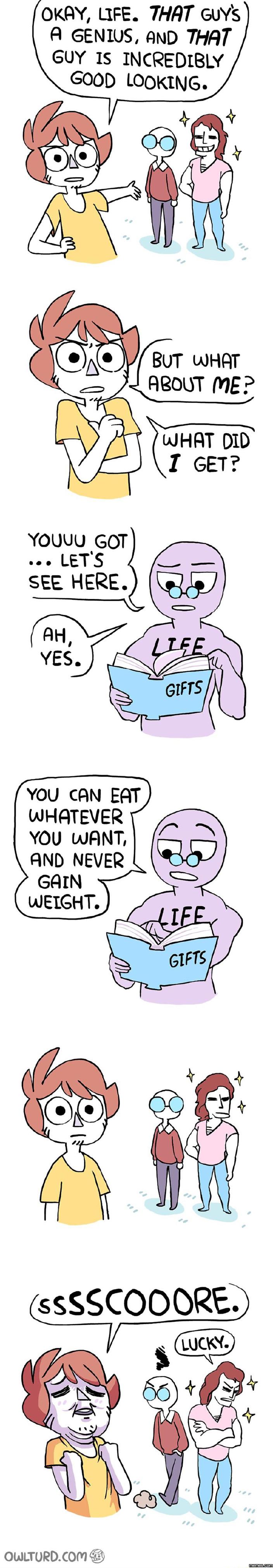 Okay, life