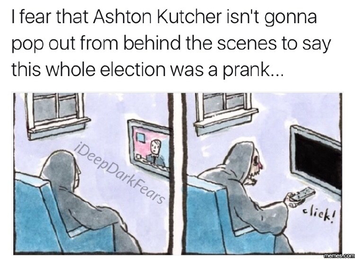 Whole election was a prank