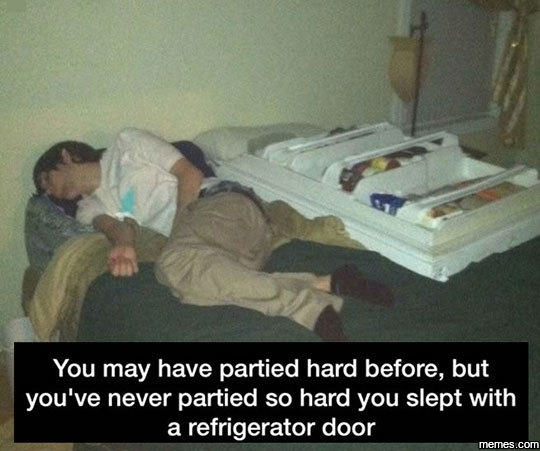 You've Probably Never Partied Like This