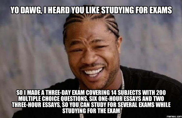 Which do you prefer essays or exams?
