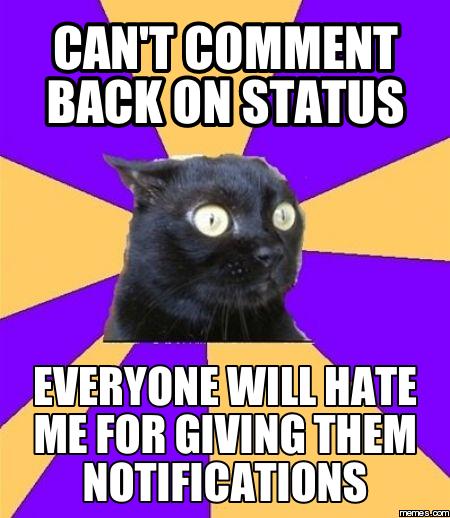 chronic anxiety cat meme - photo #16