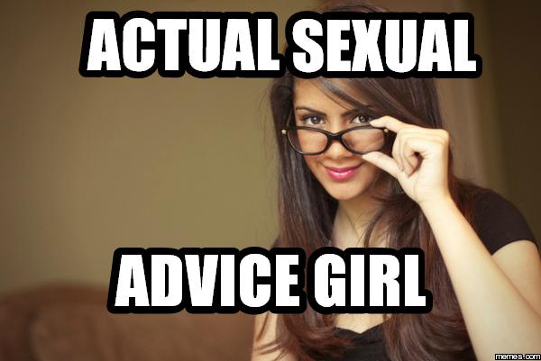 actual sexual advice girl