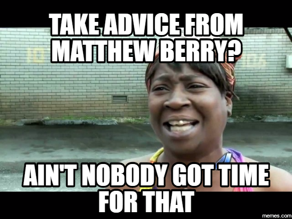 Image result for matthew berry meme