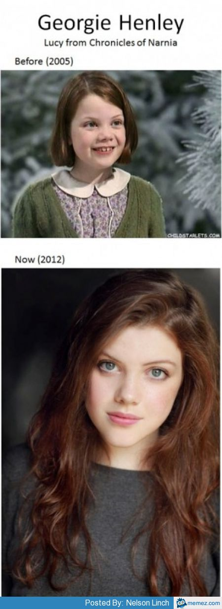 Georgie Henley is hot