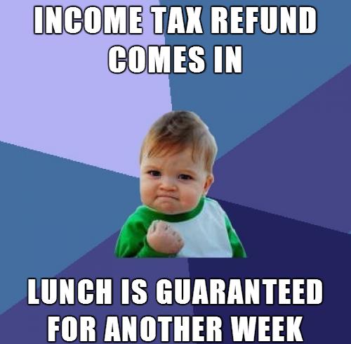 193747 home memes com,Tax Refund Memes
