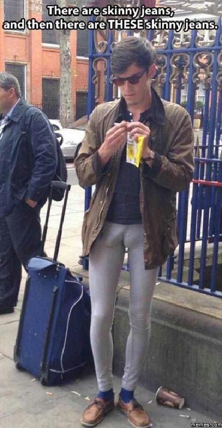 Too Skinny Skinny Jeans - Jon Jean