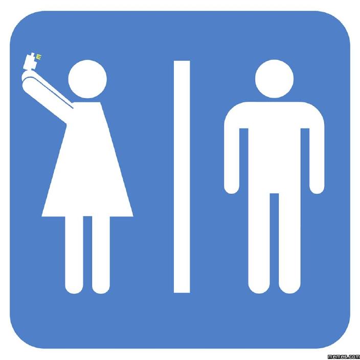 Bathroom Sign Memes a friend of mine designed a new bathroom sign. | memes