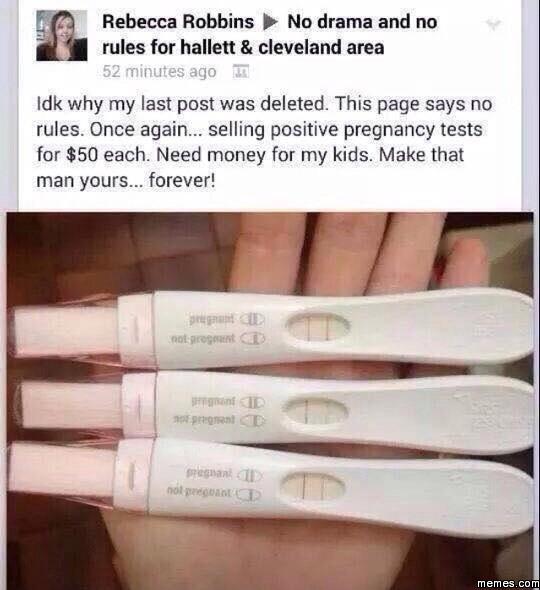 Funny Pregnancy Test Meme : Home memes