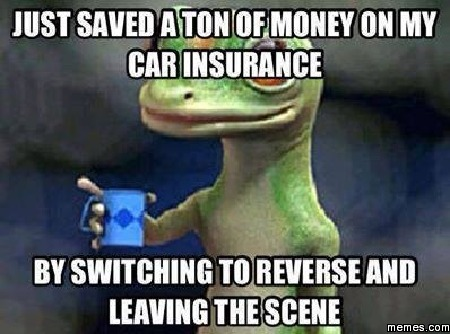 Insurance companies aren't the best examples of being forgiving.