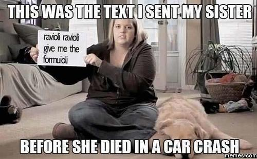 This Was The Text I Sent My Sister Before She Died In A Car Crash