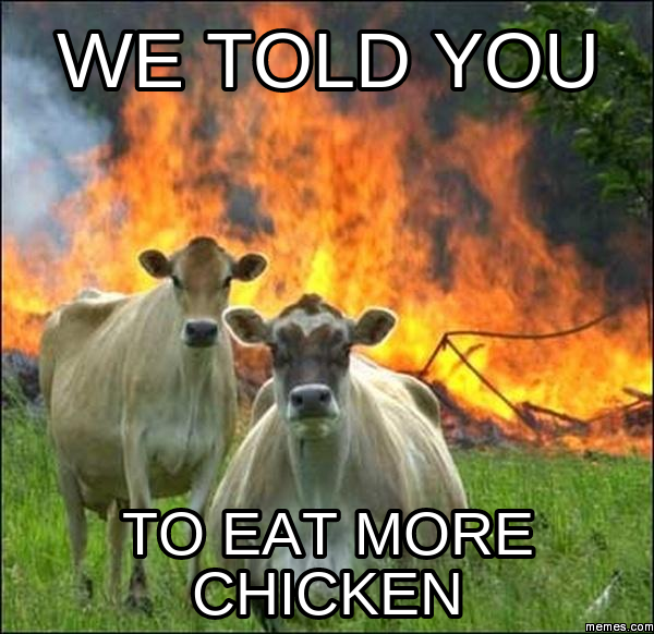 WE told you to eat more chicken