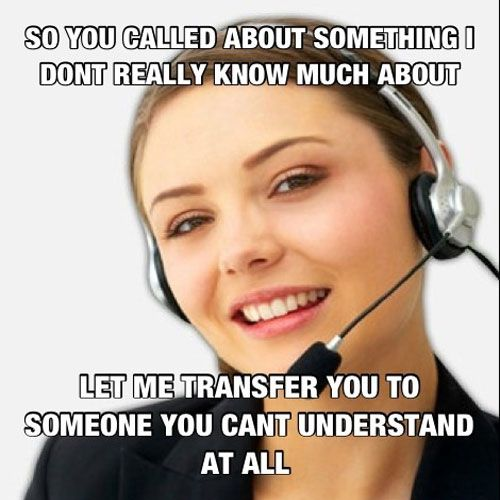 Inspirational Customer Service Quote Humor: Memes.com