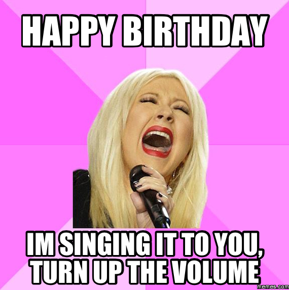 438249 home memes com,Singing Happy Birthday Meme