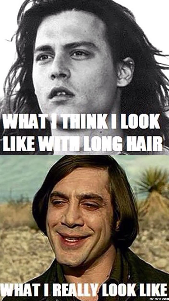 Home | Memes.com Javier Bardem Haircut