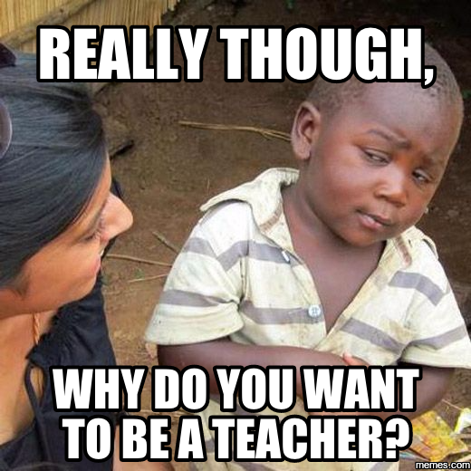 essays on why you want to become a teacher