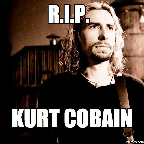 Funny House Music Meme : Image gallery kurt cobain meme