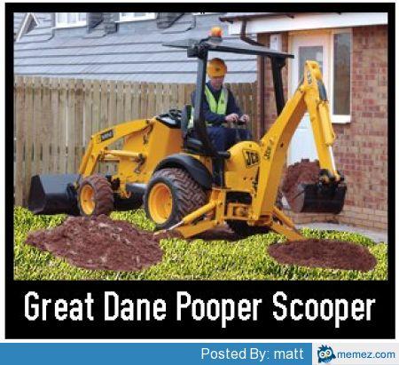 great dane pooper scooper