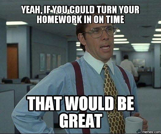 Turn In Homework