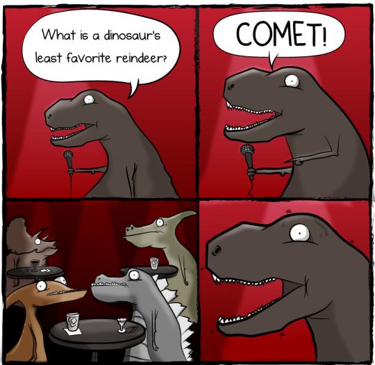 Dinosaurs least favorite reindeer 676413