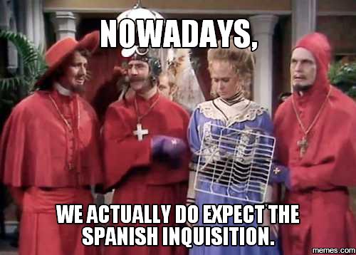 680344 home memes com,Spanish Inquisition Meme