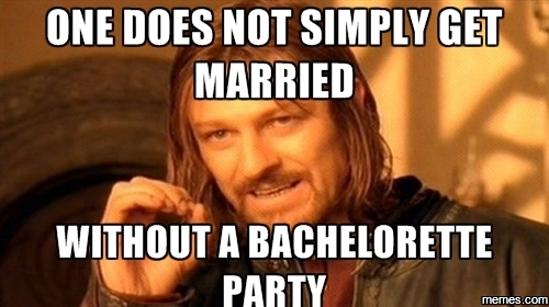 Without A Bachelorette Party