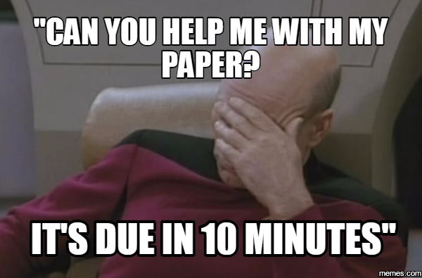Help me with my paper?