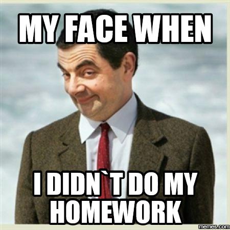 Can t do my homework