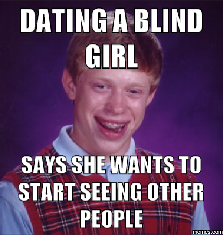 Bad luck with online dating