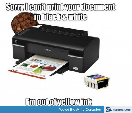 I can't print a document!!!!!!!!! please help!?
