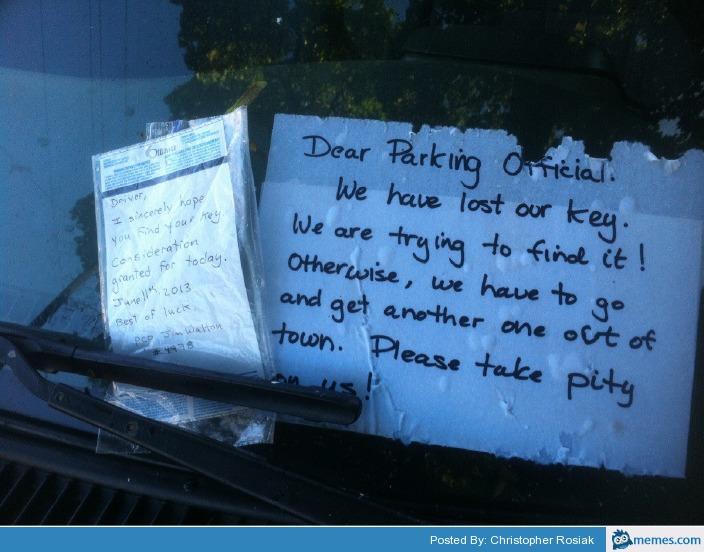 Bad Car Parking Jokes