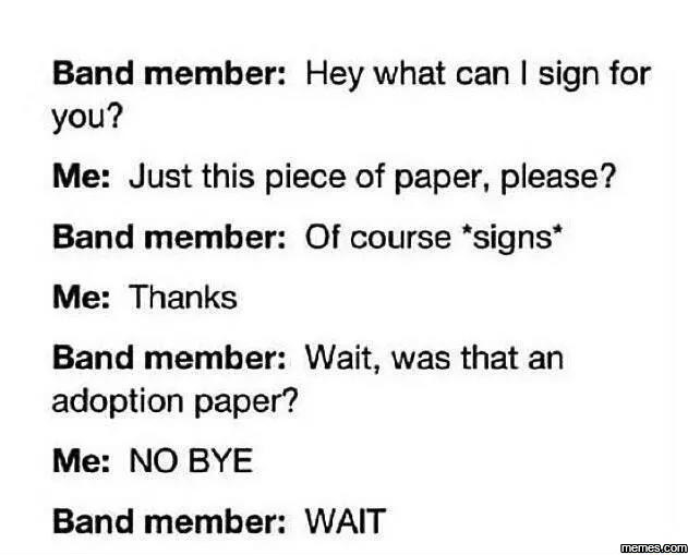 What can I sign for you