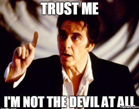 879146 i'm not the devil memes com,Devil Meme