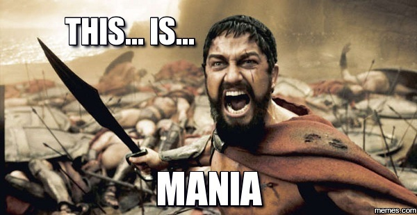 Leonidas calms my mentsies.
