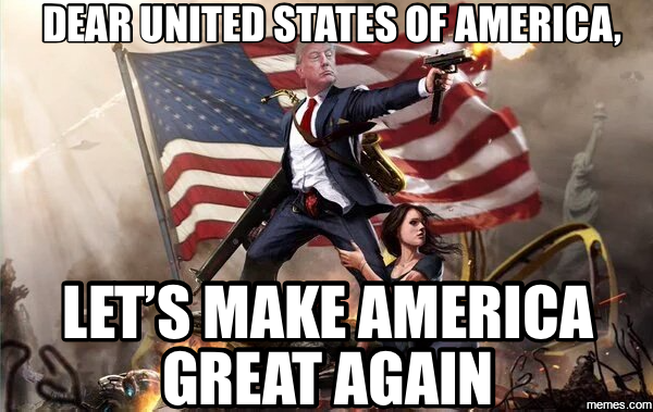 Image result for making america great again meme