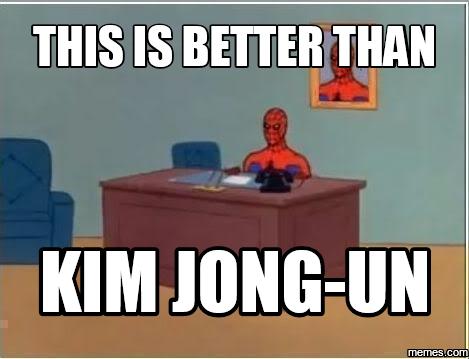 Spiderman Meme Desk American Executive Platinum Desk