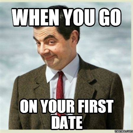 Going on first date