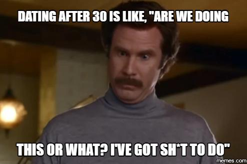 reddit dating after 30 meme