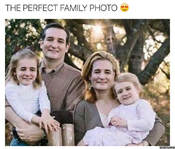 The perfect family photo