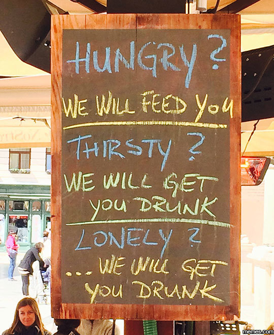 This Bar Knows Me Too Well