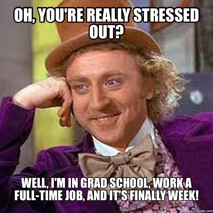 Full time in graduate school?