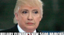 1 hillary clinton's new $600 haircut after seeing the latest polls